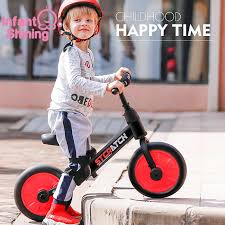 <b>Infant Shining Baby</b> Balance Bike Ride on Toys Walker 2/4 Wheels ...