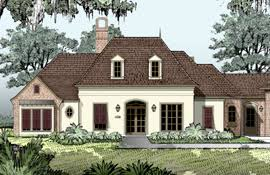 Michael Campbell Design  LC   Policies  amp  Copyright   Lafayette    French Country House Plans