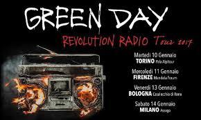 Risultati immagini per greenday  revolution radio torino no copyright