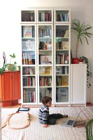 Living Room With Bookcase 17 Best Images About Home Billy Bookcase Versatility On