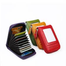 Coloffice fashion Leather card package <b>custom multi function</b> ...