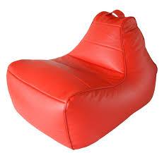 Бескаркасное <b>кресло Modern</b> Lounger Red (красный)