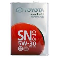 <b>Моторное масло TOYOTA</b> SN 5W-30 4 л — купить по выгодной ...
