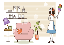 spring cleaning with my mother a mothers day essay mom cleaning illustration