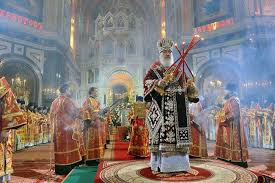 Image result for Easter Mass at Christ the Savior Cathedral, Moscow