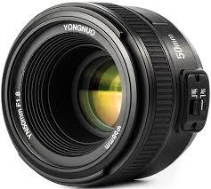 <b>Объектив Yongnuo AF 50mm</b> f/1.8 Nikon F купить в интернет ...