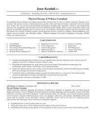 good physical therapy technician resume sample aide therapist gallery of massage therapist resume examples