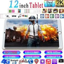 Hot new 12 inch 2K HD surface tablet 6G+128G 10 core large ... - Vova