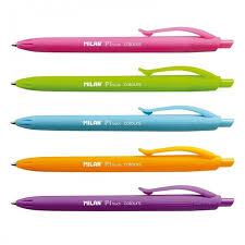 <b>Milan Ручки шариковые</b> P1 Touch Colours 1.0 мм 4 цвета 5 шт ...