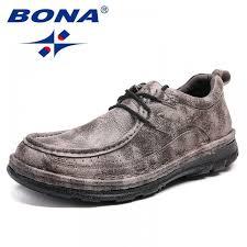 <b>BONA New Fashion Style</b> Men Casual Shoes Lace Up Men Boat ...