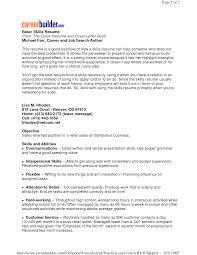 sample resume simple  seangarrette cosample