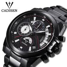 <b>CADISEN</b> 2019 New <b>Men's</b> Waterproof Watches Top Brand Luxury ...