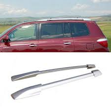 For 2008-2013 Toyota Highlander Aluminum Factory Style <b>Roof</b> ...