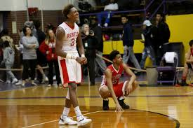in pictures bowsher 70 rogers 60 bowsher s dalonte brown celebrates as a teammate sinks a throw to put them firmly ahead as rogers christian smith looks on late