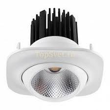 Встраиваемый светодиодный <b>светильник Novotech</b> Drum 357600 ...