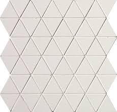 <b>Мозаика FAP Ceramiche</b> Pat fOEF White Triangolo Mosaico 30.5 ...