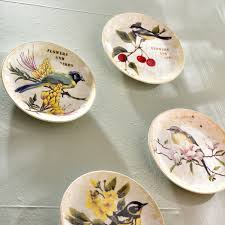 <b>Набор из 4 тарелок</b> Forest Bird – HPDecor – Бутик только ...