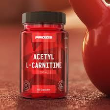 Acetyl <b>L</b>-<b>Carnitine 500mg</b> 60 caps - Energy & Endurance   Prozis