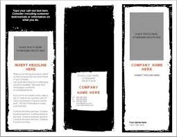 template microsoft word tri fold brochure templates microsoft word it