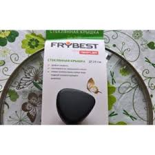 Крышка <b>FRYBEST</b> стеклянная GL 24 F   Отзывы покупателей