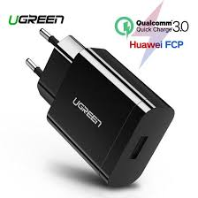 <b>Ugreen USB Charger</b> 18W Quick Charge 3.0 Mobile Phone Charger ...