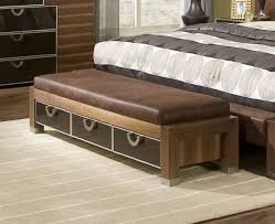 Modern Bedroom Benches Modern Bedroom Upholstered Benches Allmodern Diy Bed Langley