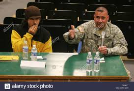 army recruiter stock photos army recruiter stock images alamy u s army recruiter sgt jose de lao right and former u s navy sailor