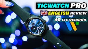 <b>Ticwatch Pro</b> English Review | <b>4G LTE</b> | This watch solves the ...