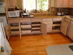 Kitchen Cabinet Slide Out Kitchen Drawers For Kitchen Cabinets With Wonderful Wood Pull