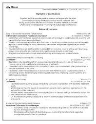 school guidance counselor resume sample cipanewsletter alcohol and drug counselor resume s lewesmr guidance sle substance