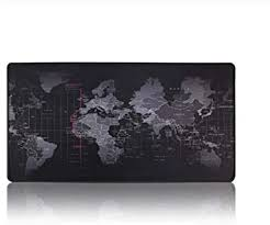XMLEI RGB Large Gaming Mouse Pad <b>World Map</b> Mousepad ...