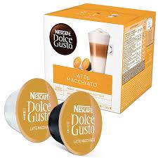 <b>Капсулы</b> для кофемашин <b>NESCAFE</b> Dolce Gusto <b>Latte Macchiato</b> ...