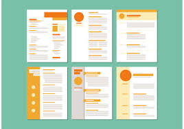 curriculum vitae vector template vector art curriculum vitae layout templates