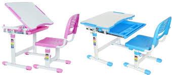 vivo height adjustable childrens desk chair kids interactive work station childrens office chair