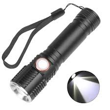 Flashlights <b>T6</b>/<b>L2 LED</b> Flashlight Rechargeable 4 Modes Zoom ...