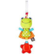 <b>Подвесная игрушка BenBat</b> Погремушка Лягушка вибрирующая ...