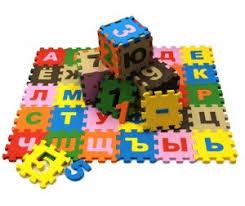 Игровой <b>коврик Экопромторг Мягкий</b> пол <b>развивающий</b> Буквы и ...
