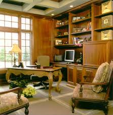 photos 10 21 example of a classic home office design in other with a freestanding desk built in office desk plans