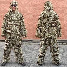 <b>Sniper Special Force Ghillie</b> Suit Ghilly Yowie Screed Cloth Airsoft ...