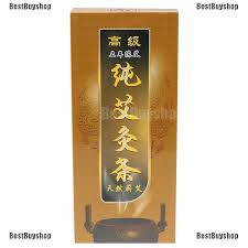 BBS   <b>10pcs Moxa Roll Stick</b> Moxibustion Bar Pure Moxa ...