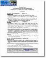 free resume critique from resumepower com  critique     resumepower    click to see the resume submitted for a   critique