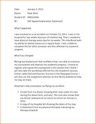 academic appeal letter registration statement  academic appeal letter sap letter jpeg