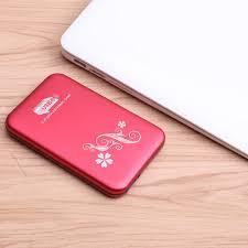 Metal pattern <b>2.5 inch USB3</b>.<b>0</b> external hard drive 320GB / 500GB ...