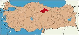 Image result for tokat haritası