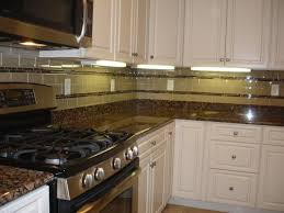 ice granite cabinets backsplash ideas