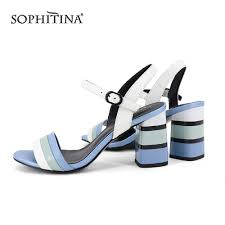 <b>SOPHITINA</b> Big Size 36 43 Lady Sandals 2019 <b>New Fashion</b> ...