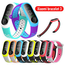 21 Colors NEW Arrival <b>Watch Brand For Mi</b> Band 3 Strap Miband 3 ...