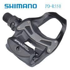 <b>Shimano R550 SPD</b>-SL Clipless Road Pedals Bike Road <b>Self</b> ...
