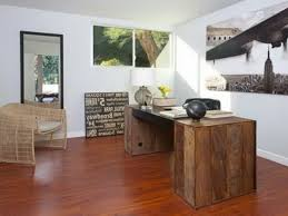 fur rug ideas with amazing wood office desk