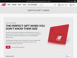 New Balance | Gift Card Balance Check | Balance Enquiry, Links ...